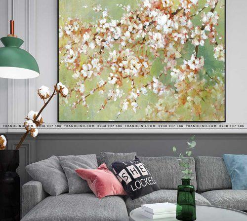 tranh canvas hoa 840