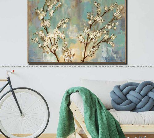 tranh canvas hoa 841