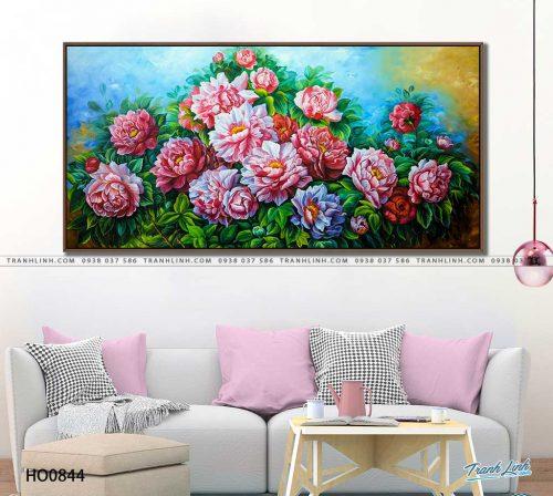 tranh canvas hoa 844