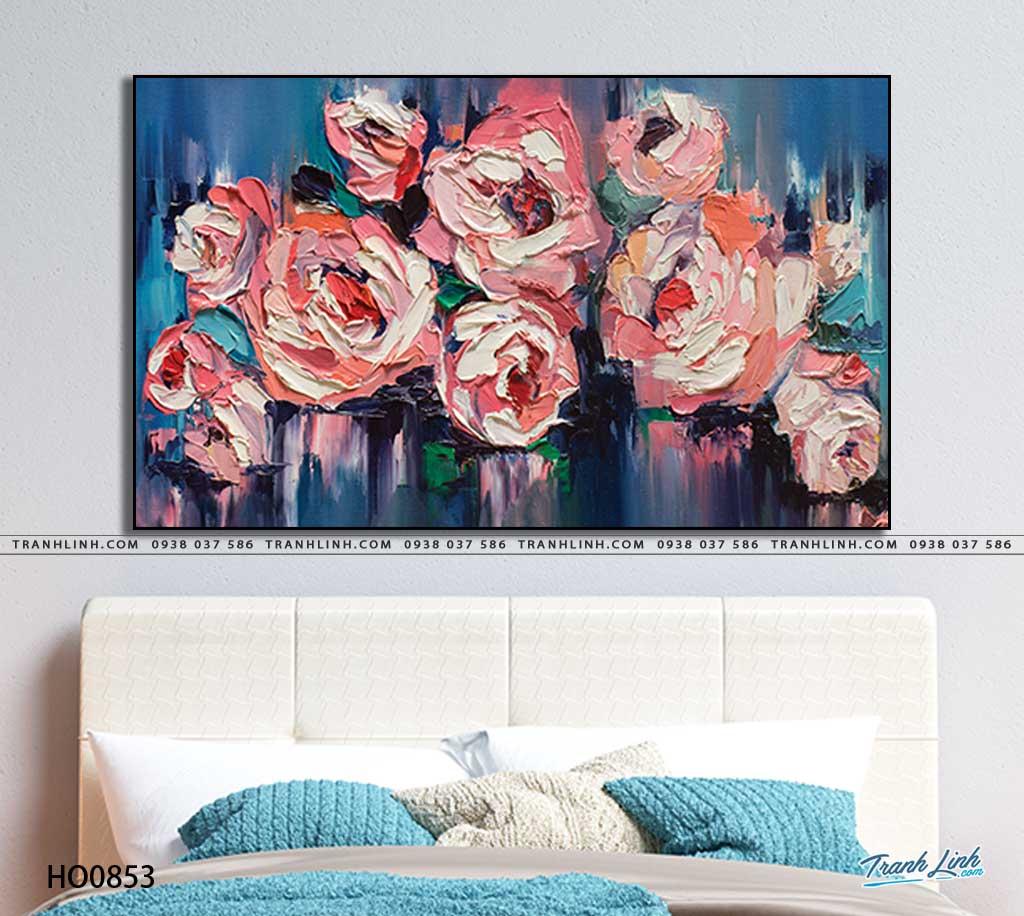 tranh canvas hoa 853