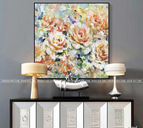 tranh canvas hoa 854