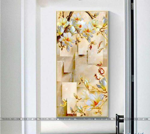 tranh canvas hoa 856