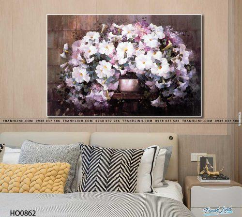 tranh canvas hoa 862