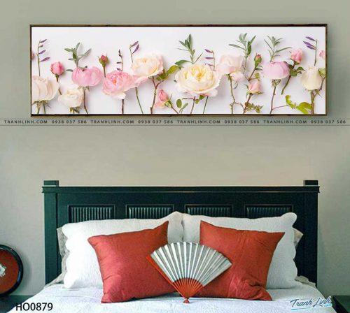 tranh canvas hoa 879