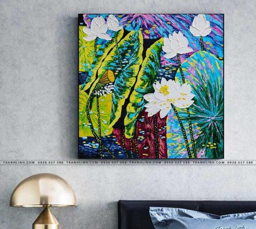 tranh canvas hoa 883