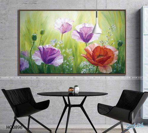 tranh canvas hoa 896