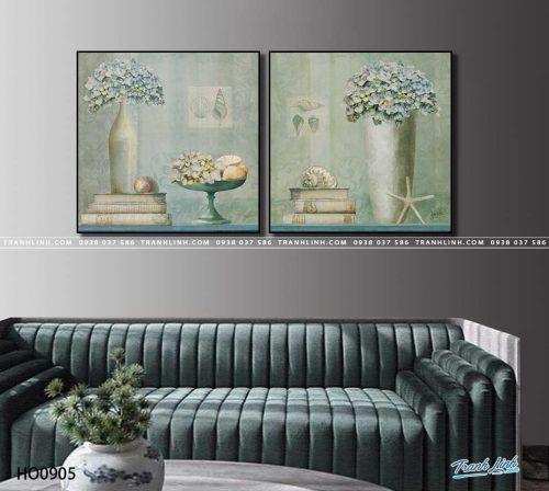 tranh canvas hoa 905