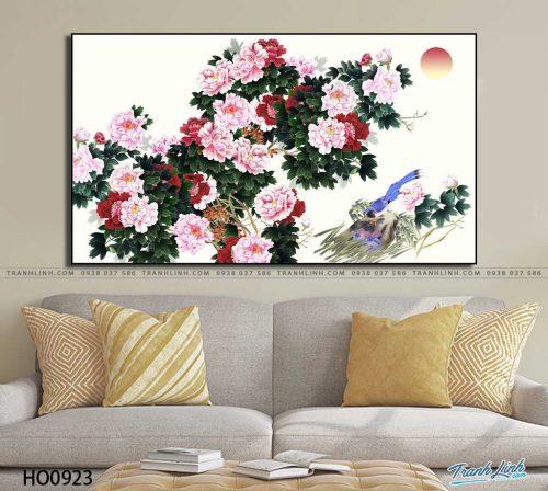 tranh canvas hoa 923