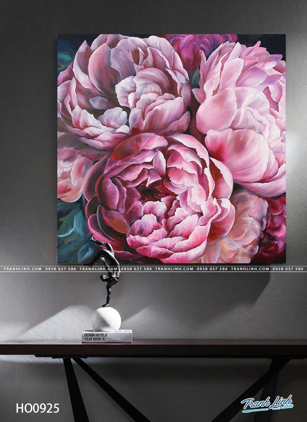 tranh canvas hoa 925