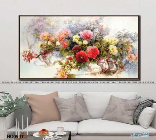 tranh canvas hoa 941