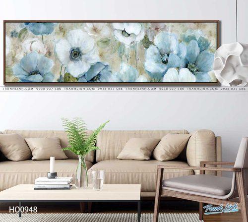 tranh canvas hoa 948