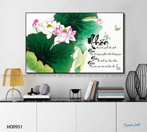 tranh canvas hoa 951