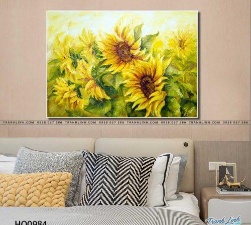 tranh canvas hoa 984