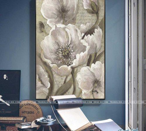 tranh canvas hoa 989