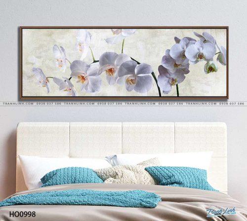 tranh canvas hoa 998