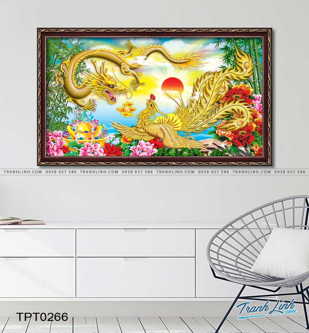 tranh canvas long phung sum vay 10