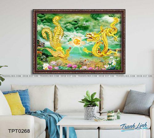 tranh canvas long phung sum vay 12