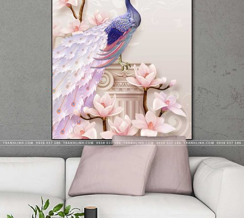 tranh chim cong 36