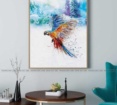tranh con chim 3