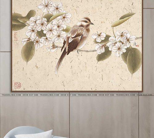 tranh con chim 6