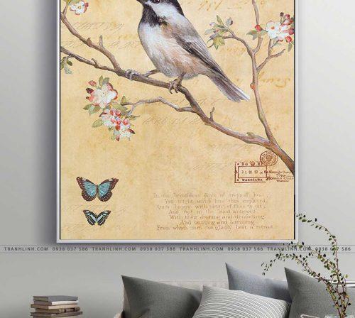 tranh con chim 7