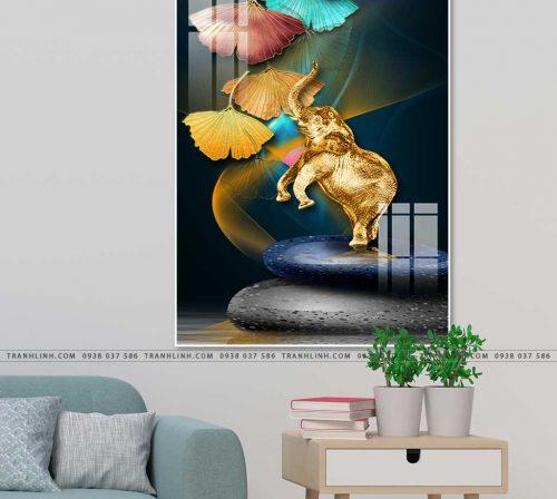 tranh con voi 22