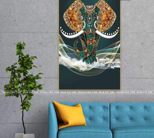 tranh con voi 31