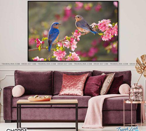 tranh doi chim 9