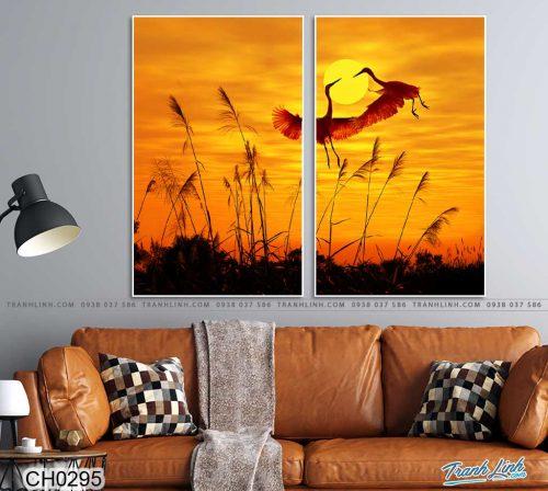 tranh doi chim seu