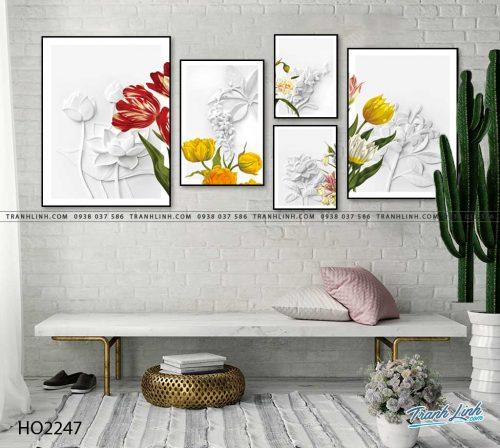 tranh hoa 21