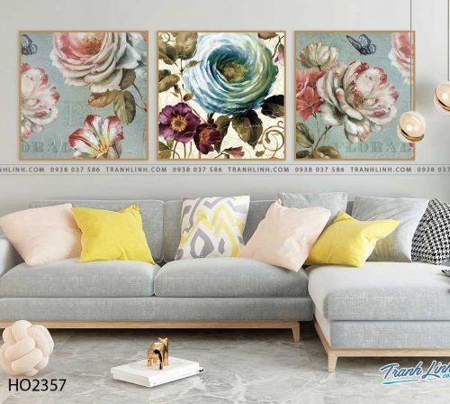 tranh hoa hong 13