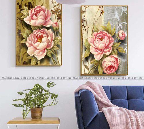 tranh hoa hong 16