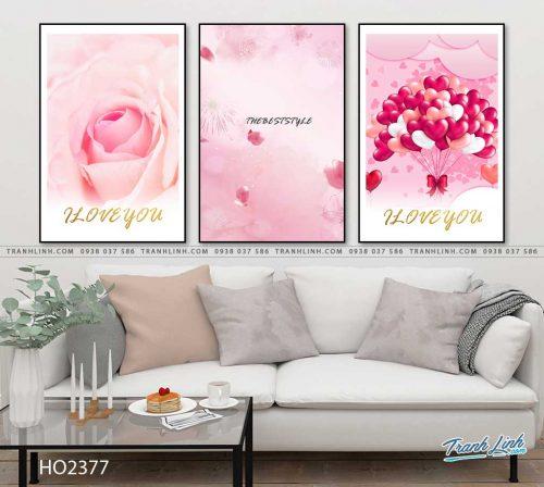 tranh hoa hong 21