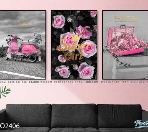 tranh hoa hong 31