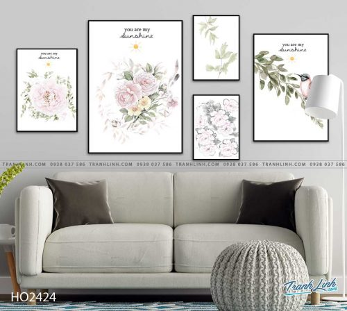 tranh hoa hong 34