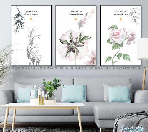 tranh hoa hong 35