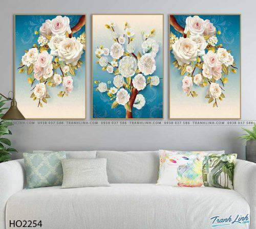 tranh hoa hong 4