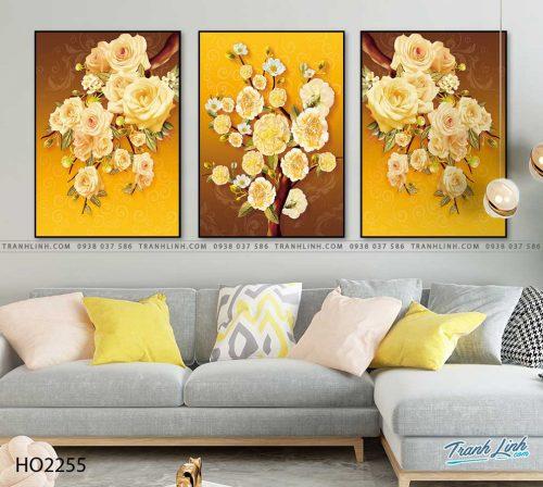 tranh hoa hong 5