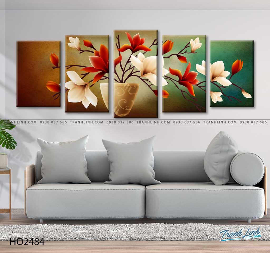 tranh hoa moc lan 26