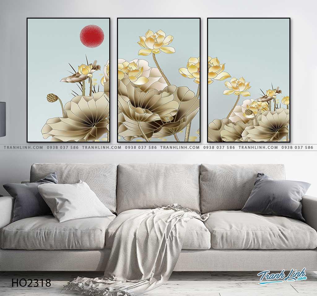 tranh hoa sen 41