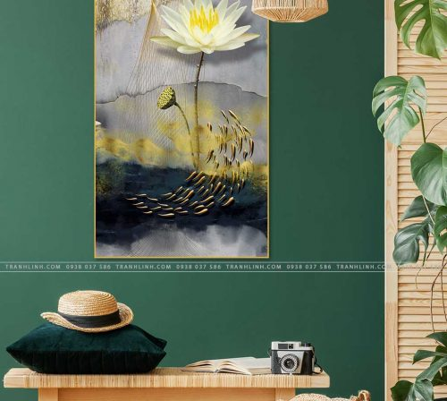 tranh hoa sung 1