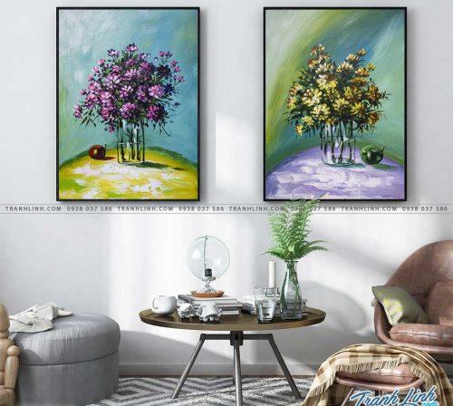 tranh hoa truu tuong 13