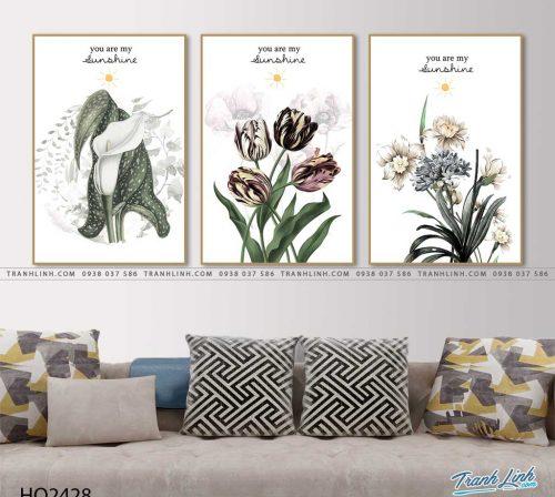 tranh hoa tulip 4