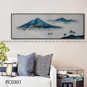 Bức tranh hữu tình về cảnh sông núi Việt nam