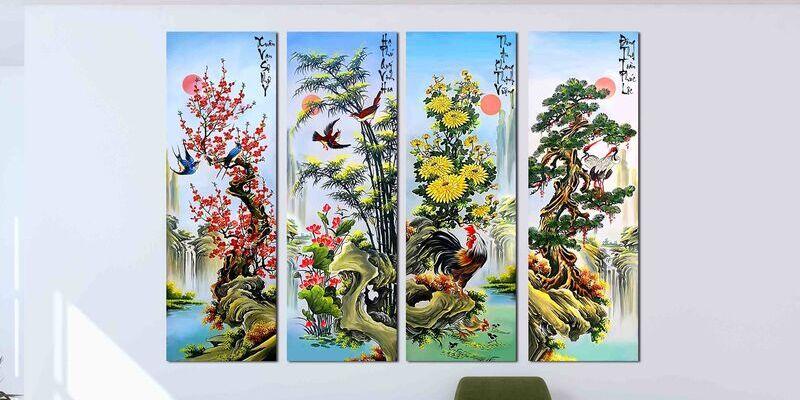 tranh tang doi tac 3
