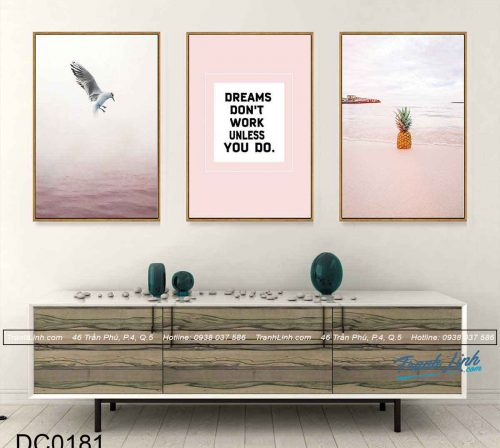 bo tranh canvas trang tri decor dc0181