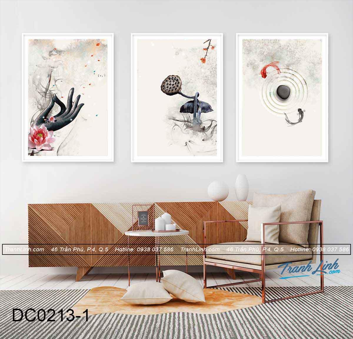 bo tranh canvas trang tri decor dc0213