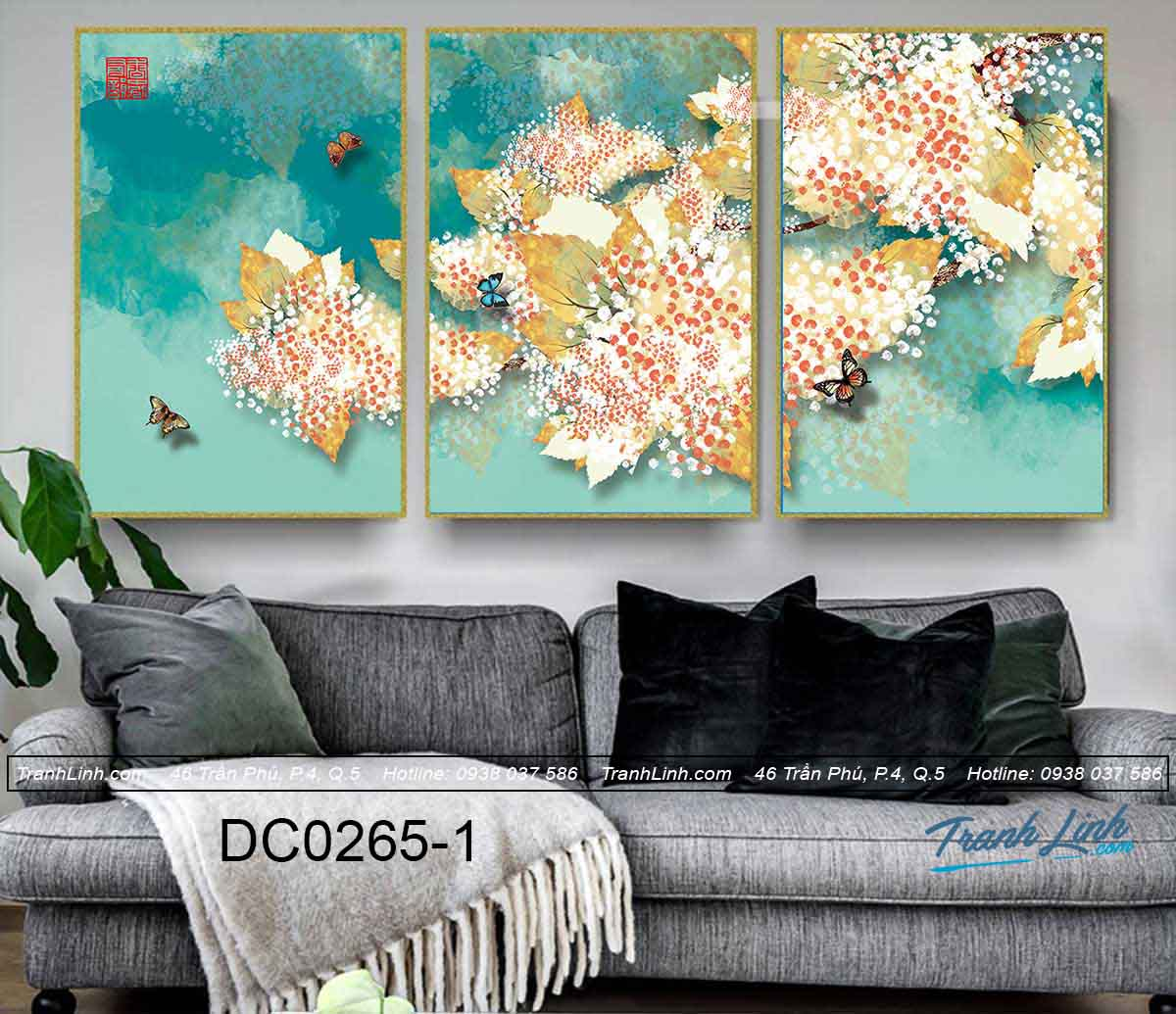 bo tranh canvas trang tri decor dc0265