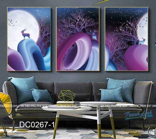 bo tranh canvas trang tri decor dc0267
