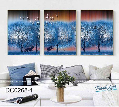 bo tranh canvas trang tri decor dc0268